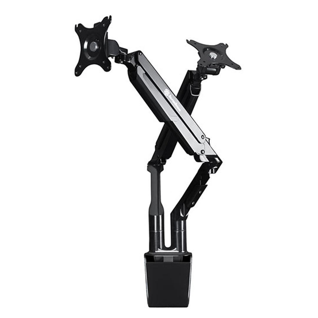 SilverStone ARM21B Dual Monitor Arm