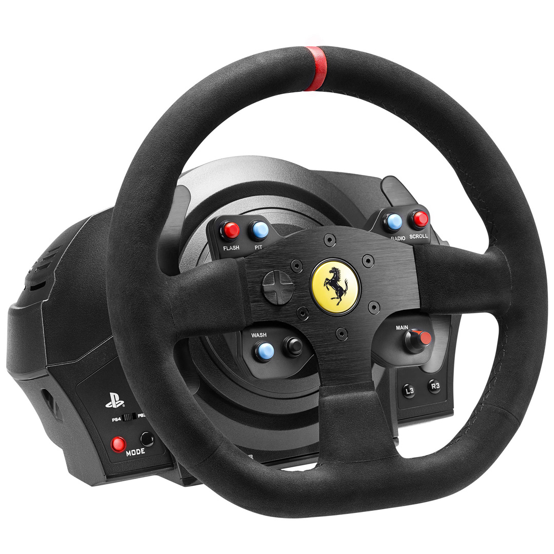 Thrustmaster T300 Ferrari Integral Racing Wheel For PC/PS4