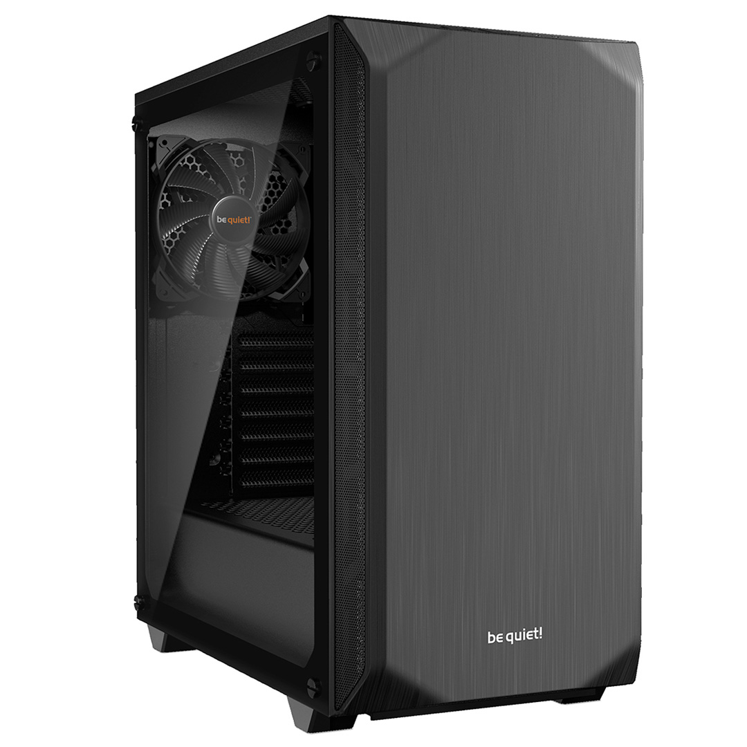 be quiet! Pure Base 500 TG Case Black