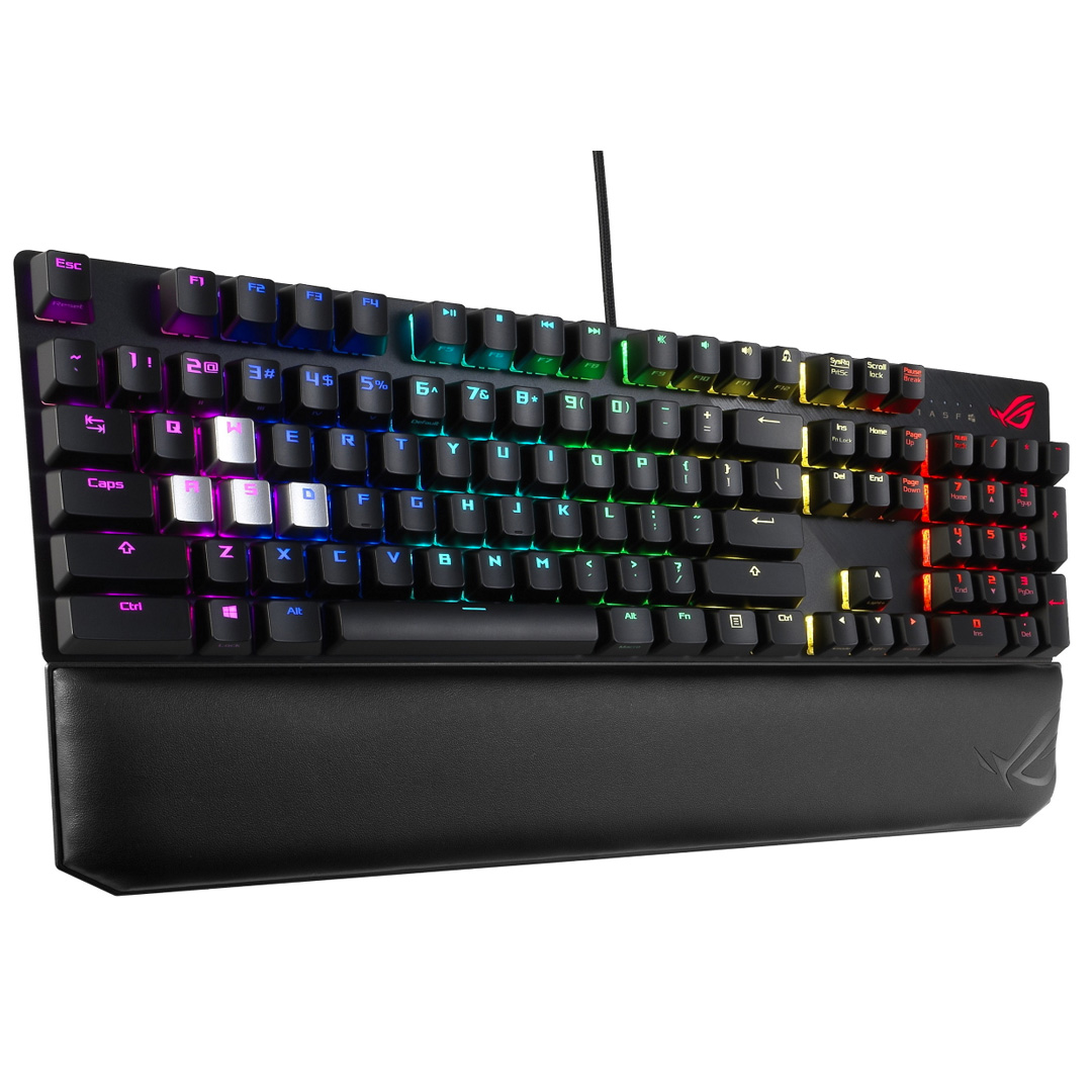 ASUS ROG Scope Deluxe RGB Mechanical Keyboard Cherry Brown