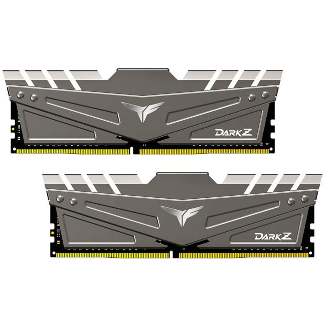 Team T-Force Dark Z 16GB (2x8GB) 3200MHz CL16 DDR4 Grey