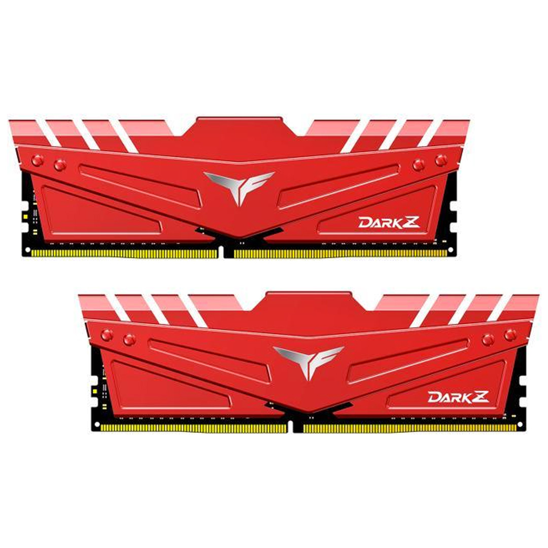 Team T-Force Dark Z 3200MHz 16GB (2x8GB) DDR4 Red Black