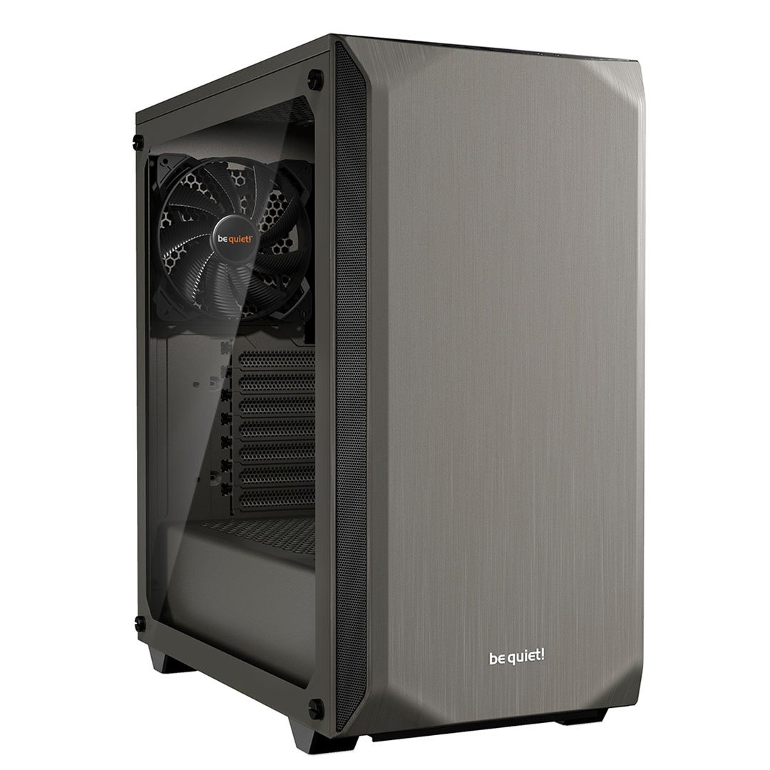 be quiet! Pure Base 500 TG Case Metallic Gray