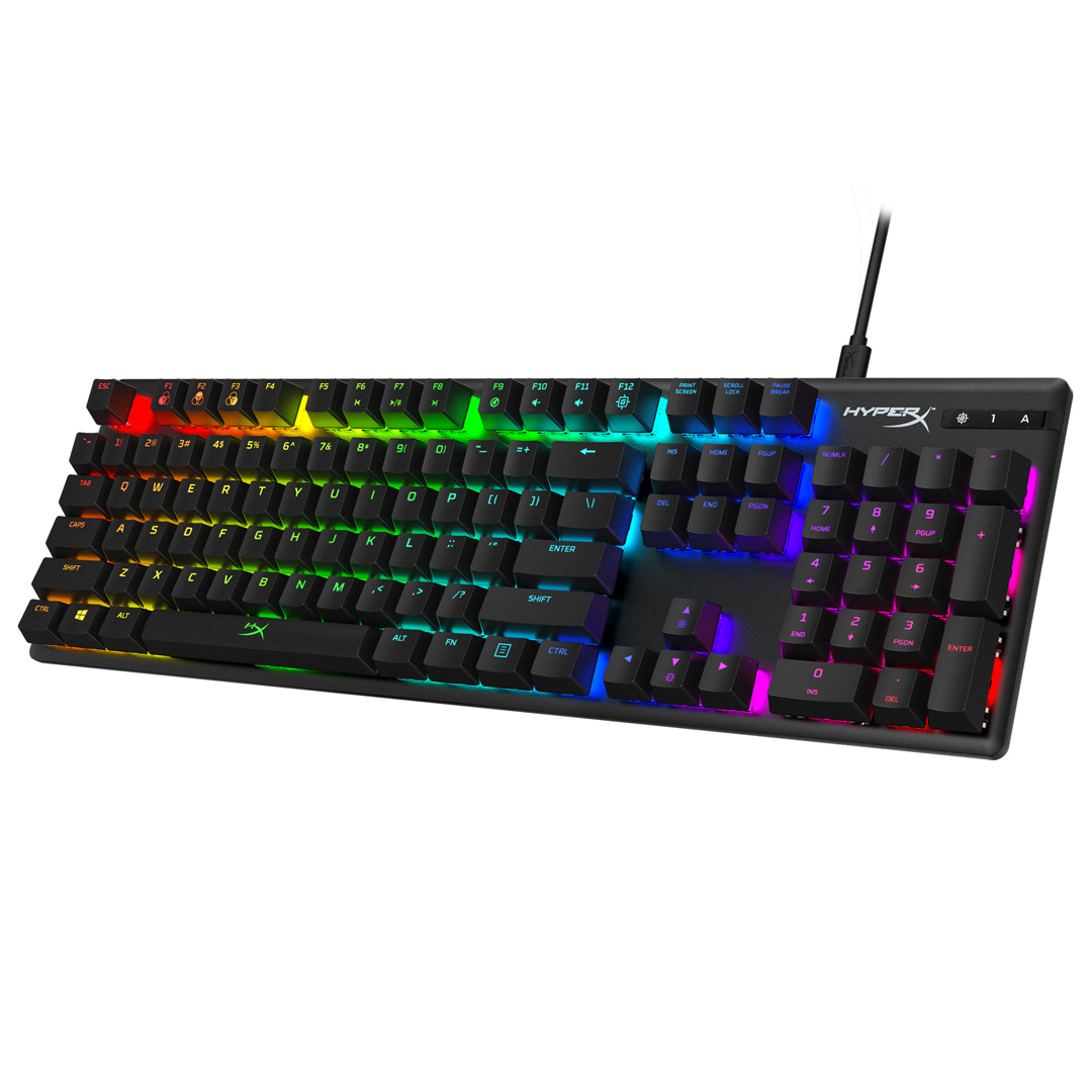 HyperX Alloy Origins RGB Mechanical Gaming Keyboard Red