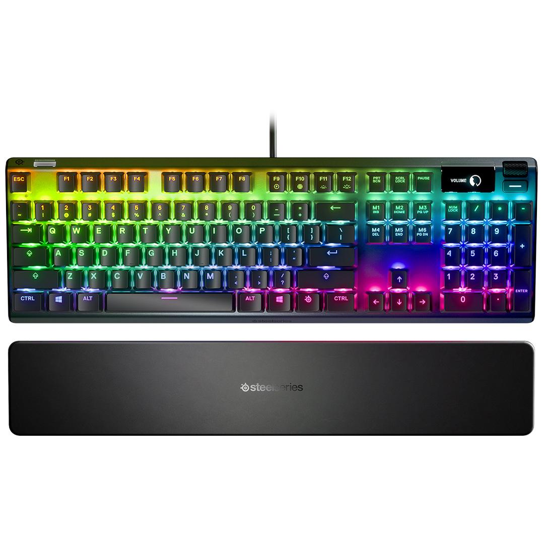SteelSeries Apex 7 Mechanical RGB Keyboard QX2 Blue