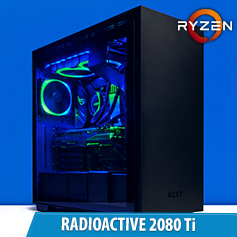 PCCG Radioactive 2080 Ti Gaming System