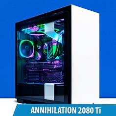 PCCG Annihilation 2080 Ti Gaming System
