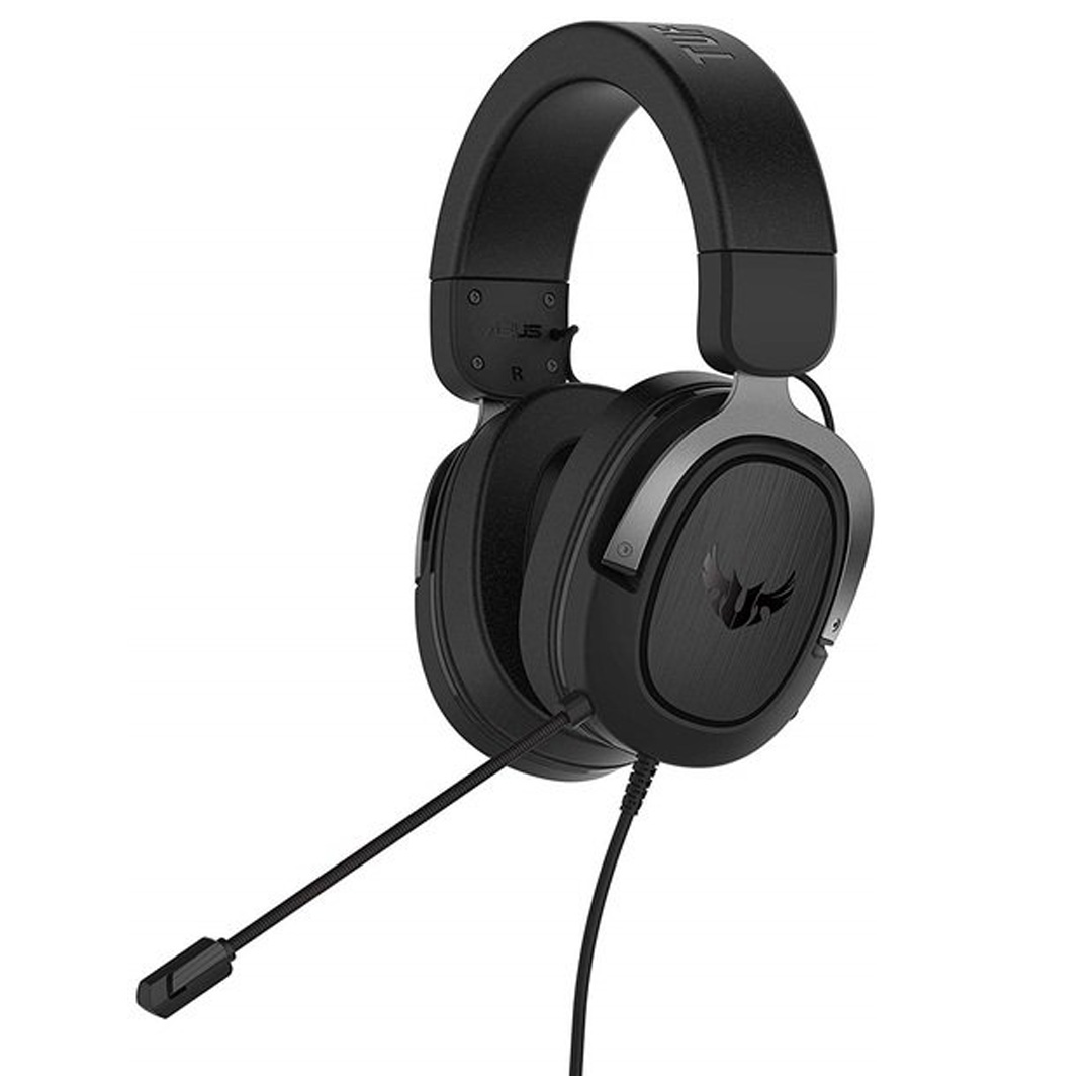 ASUS TUF H3 Gaming Headset Gun Metal