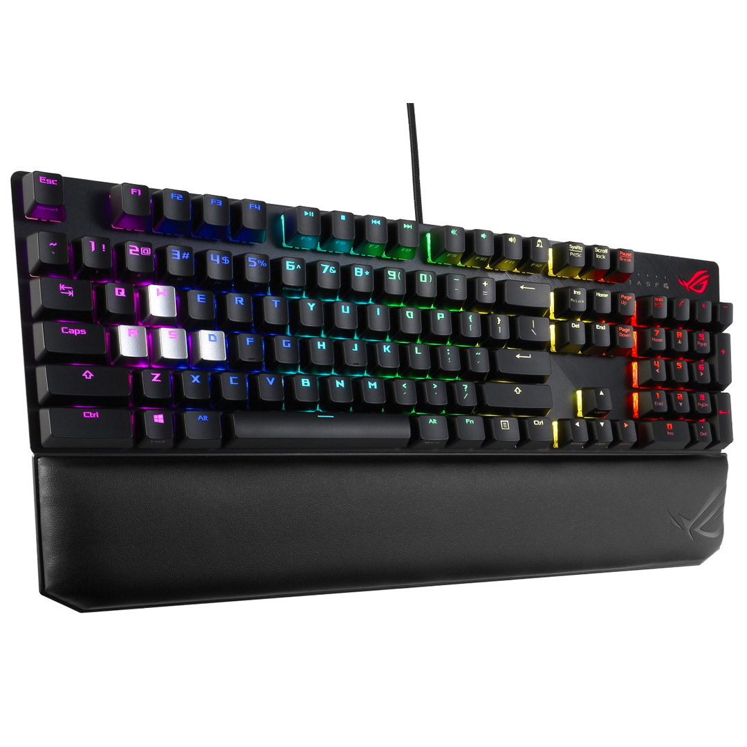 ASUS ROG Scope Deluxe RGB Mechanical Keyboard Cherry Red