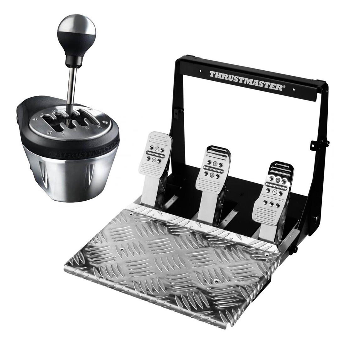 Thrustmaster TH8A/T3PA Pro Race Gear Bundle