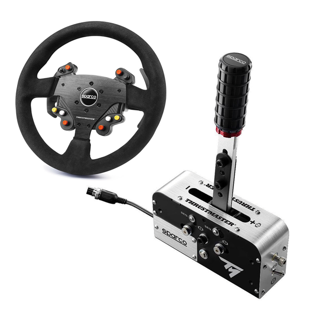 Thrustmaster Rally Race Gear Sparco MOD