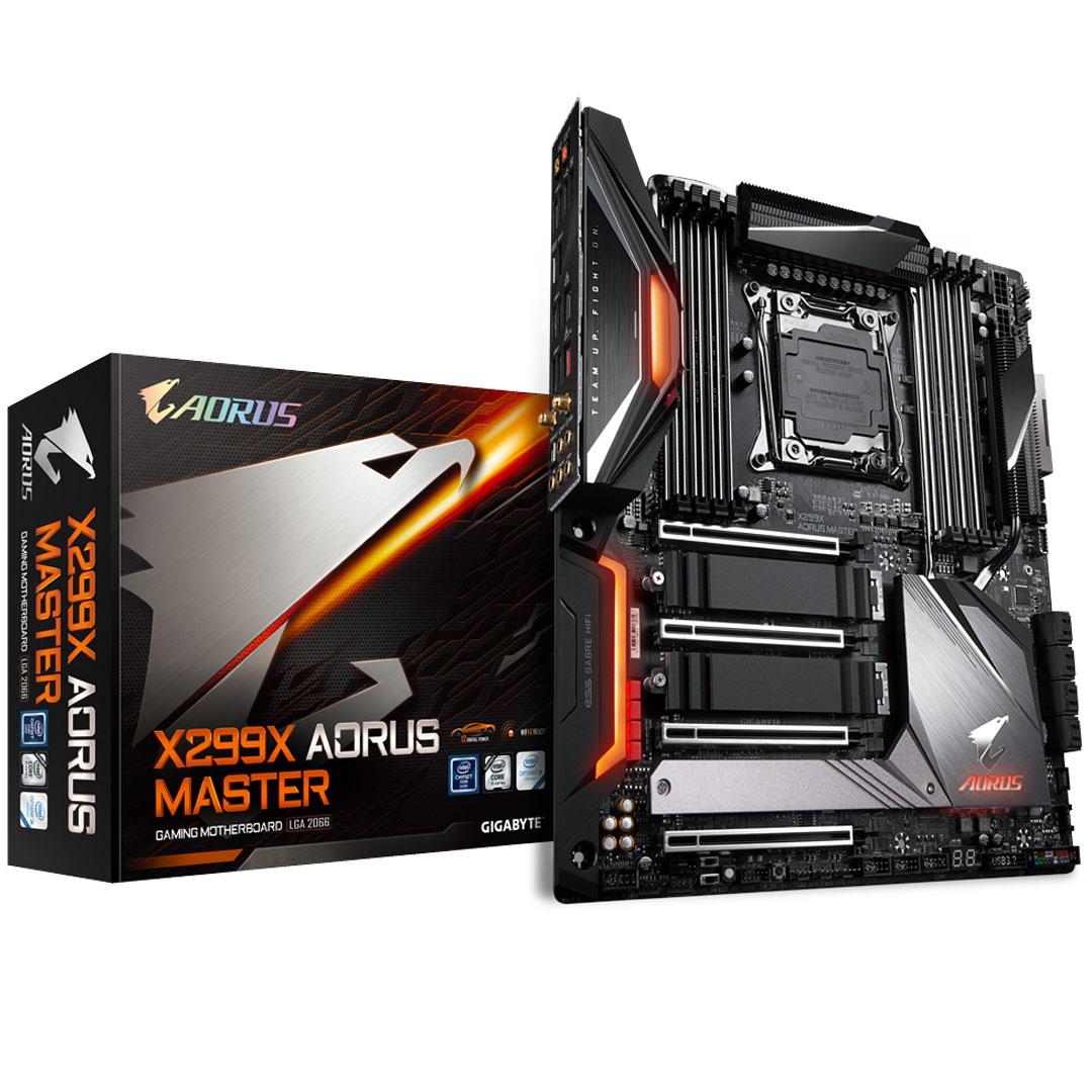 Gigabyte AORUS X299X Master RGB Motherboard