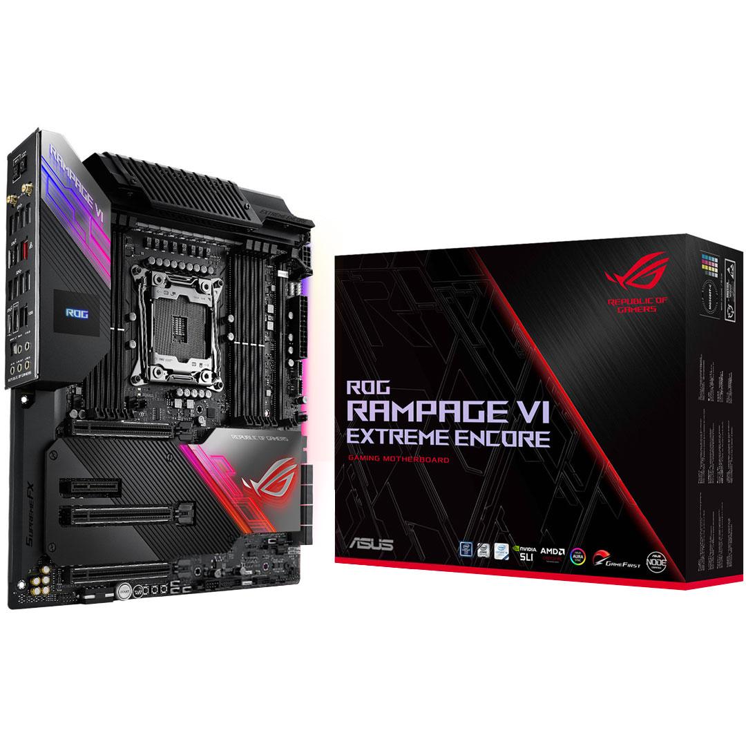 ASUS ROG Rampage VI Extreme Encore E-ATX Motherboard