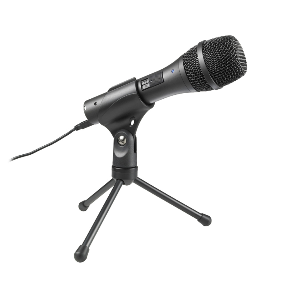 Audio-Technica AT2005USB Cardioid Dynamic USB/XLR Microphone