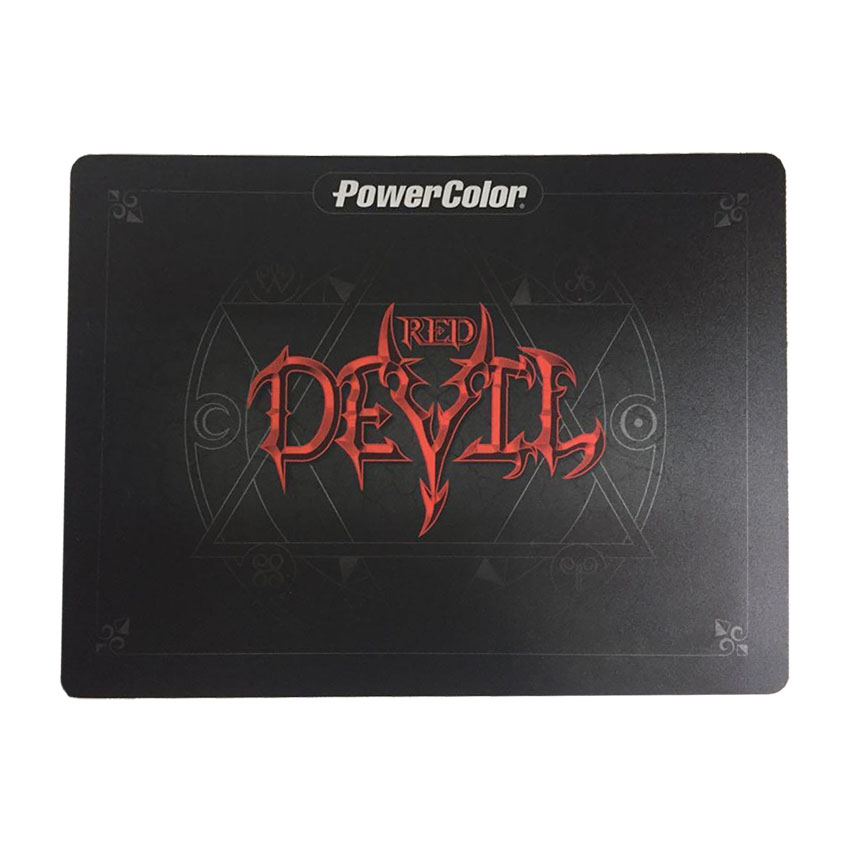 PowerColor Red Devil Hard Surface Mouse Pad