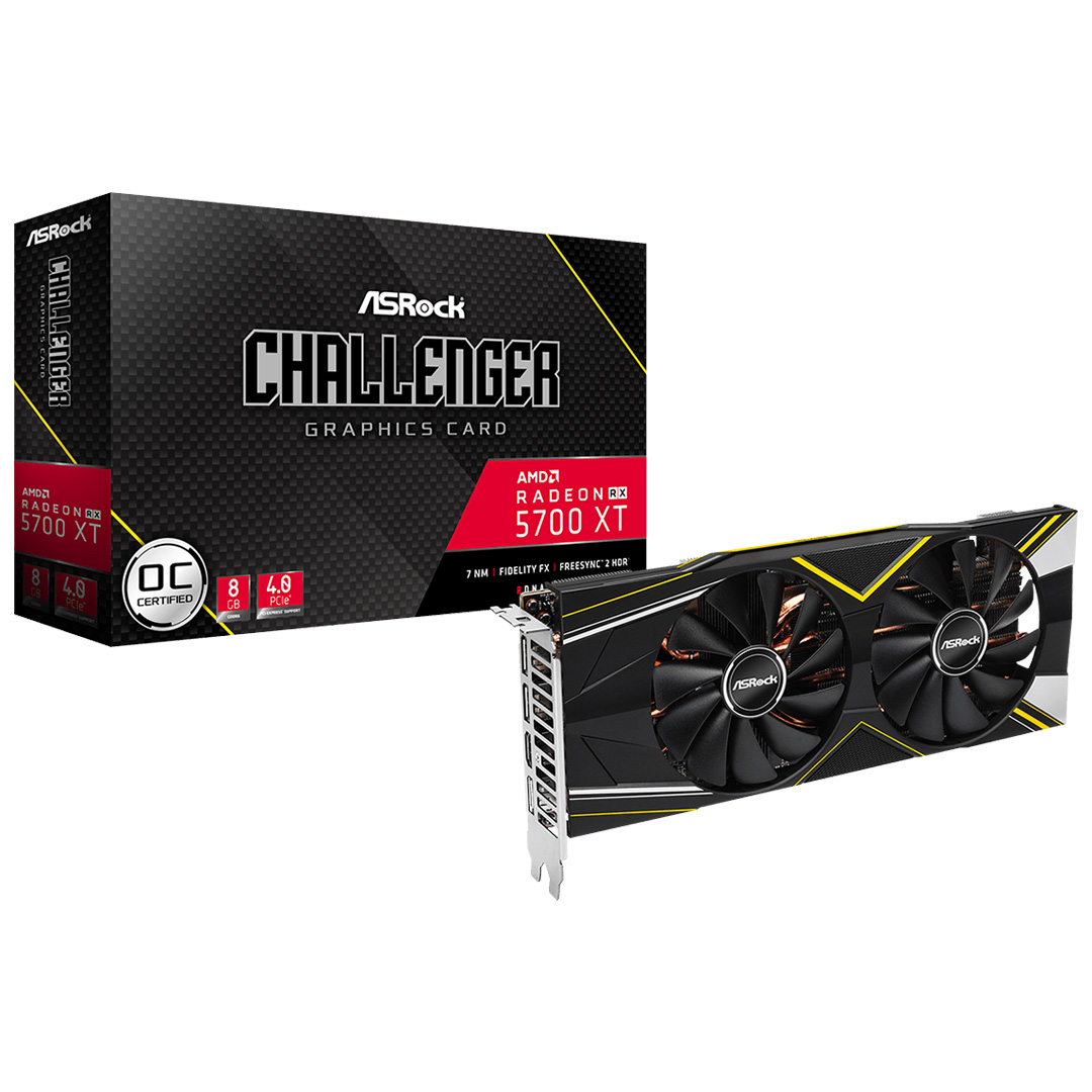 ASRock Challenger D Radeon RX 5700 XT 8GB