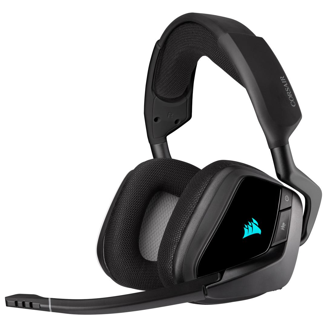 Corsair VOID RGB Elite Wireless Headset with 7.1 Surround Carbon
