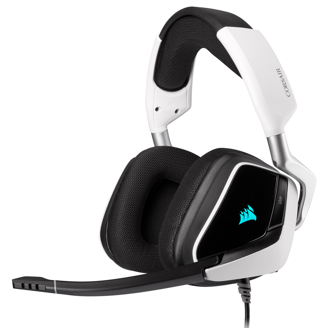 Corsair VOID RGB Elite Headset with 7.1 Surround White
