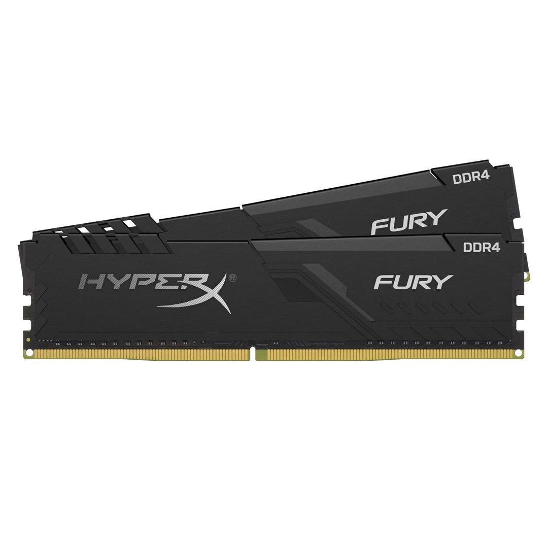 Kingston HyperX Fury 32GB (2x16GB) 2666MHz CL16 DDR4 Black