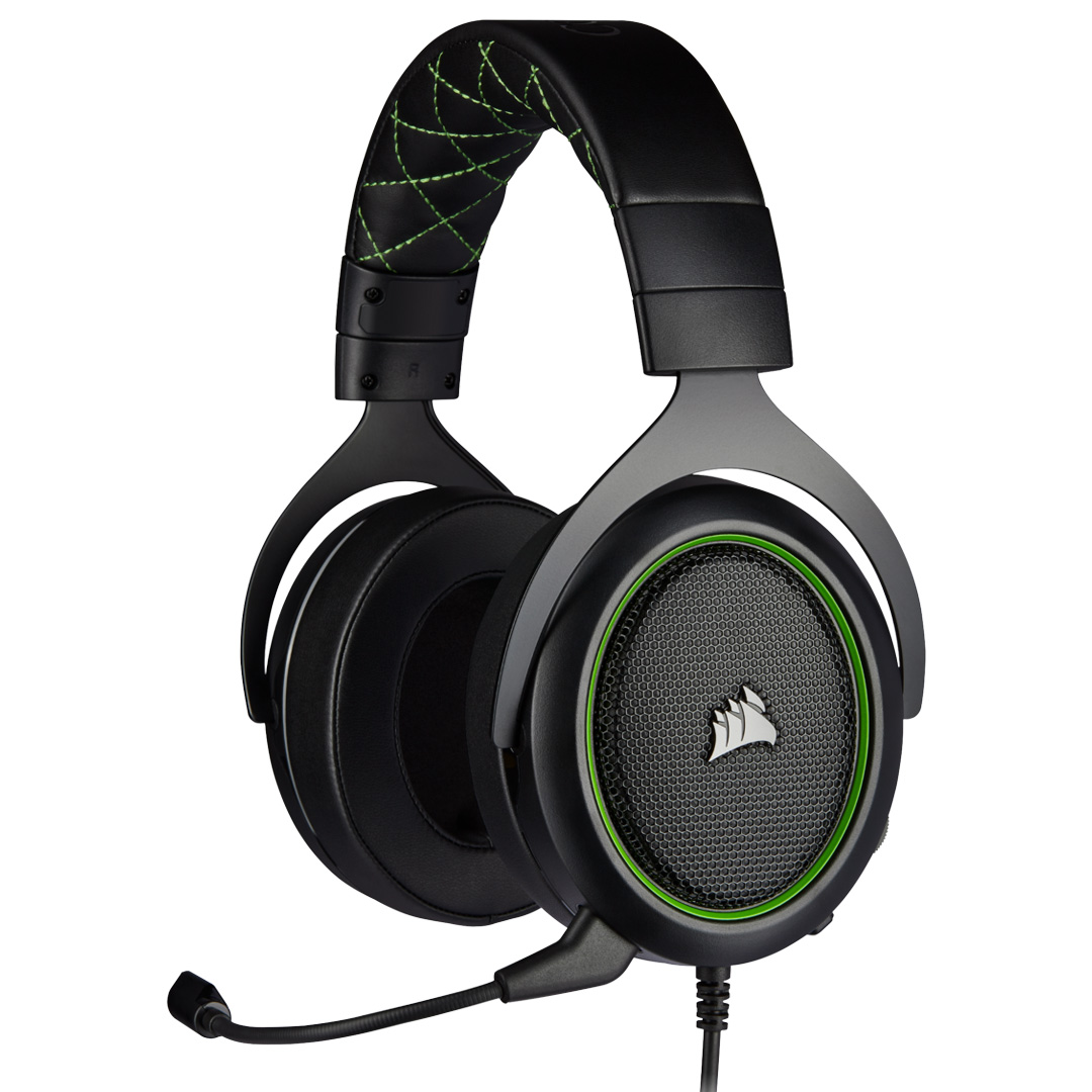 Corsair HS50 PRO Stereo Gaming Headset Green