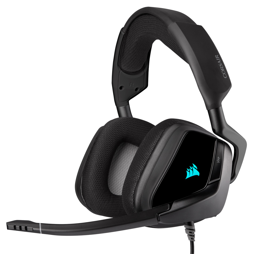 Corsair VOID RGB Elite Headset with 7.1 Surround Carbon