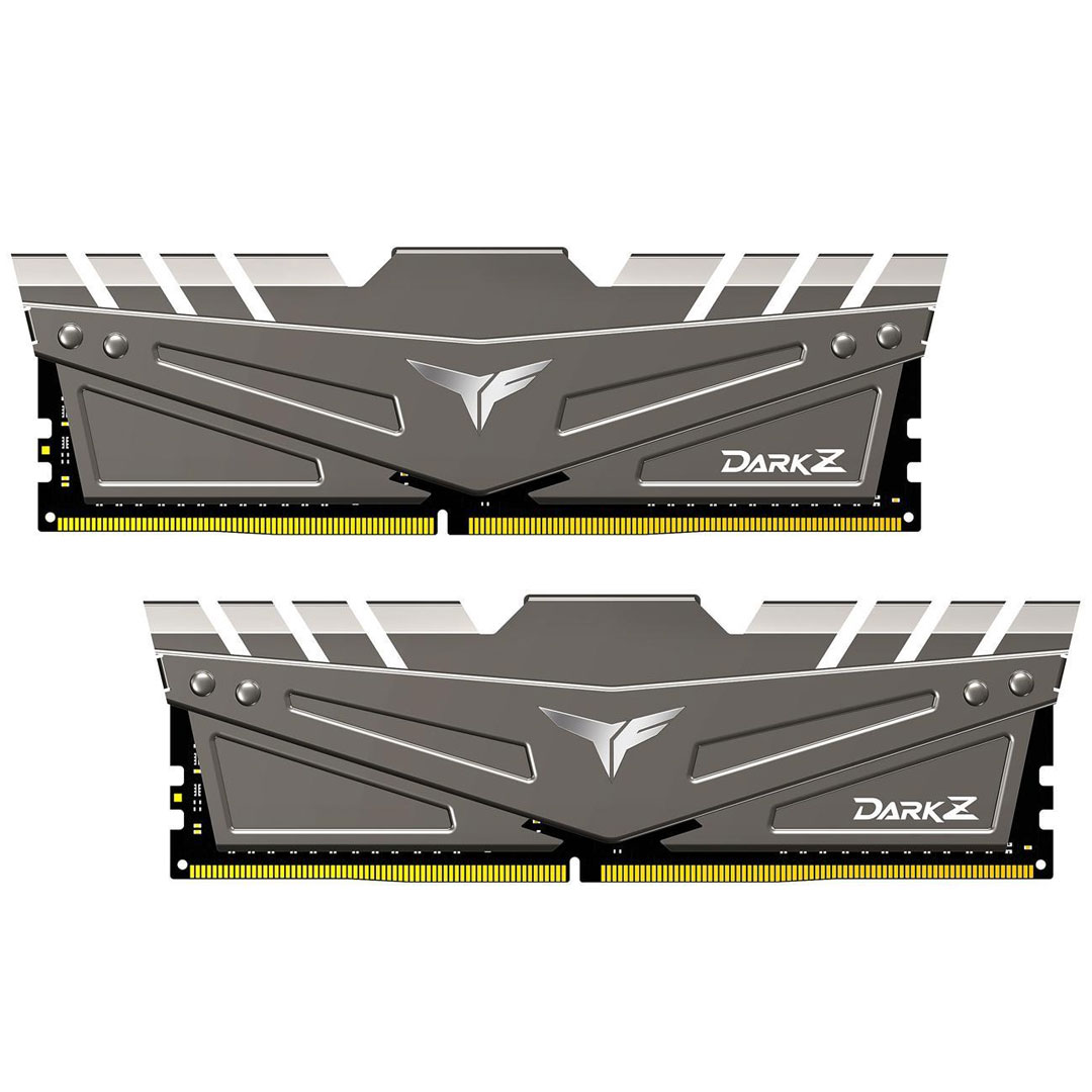 Team T-Force Dark Z 16GB (2x8GB) 3600MHz CL18 DDR4 Grey