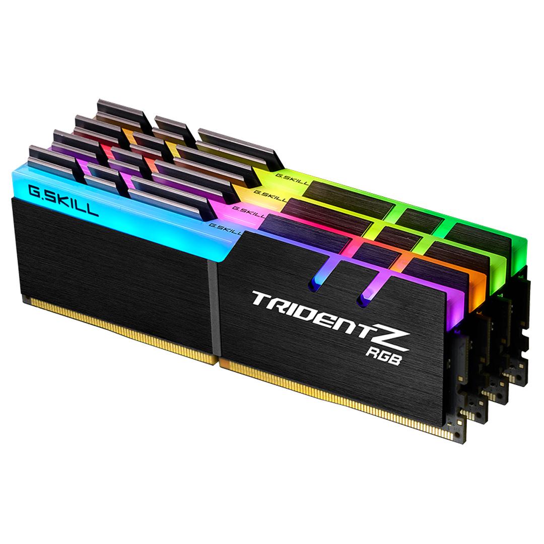 G.Skill Trident Z RGB 32GB (4x8GB) 4000MHz CL18 DDR4