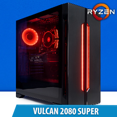 PCCG Vulcan 2080 Super Gaming System