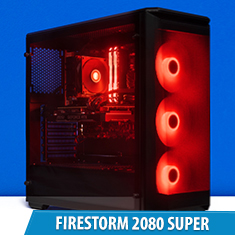 PCCG Firestorm 2080 Super Gaming System