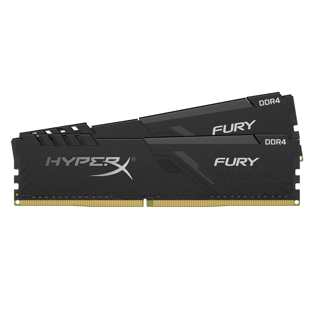 Kingston HyperX Fury 8GB (2x4GB) 2400MHz CL15 DDR4 Black