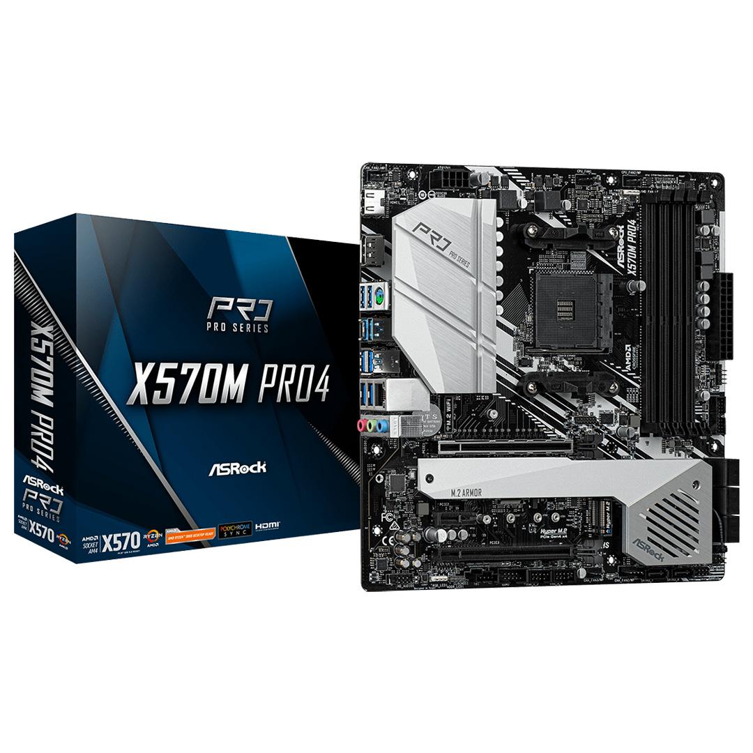 ASRock X570M Pro4 Motherboard
