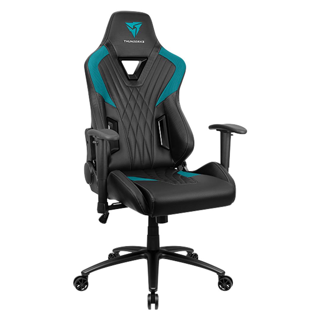 Aerocool ThunderX3 DC3 Gaming Chair Black Cyan