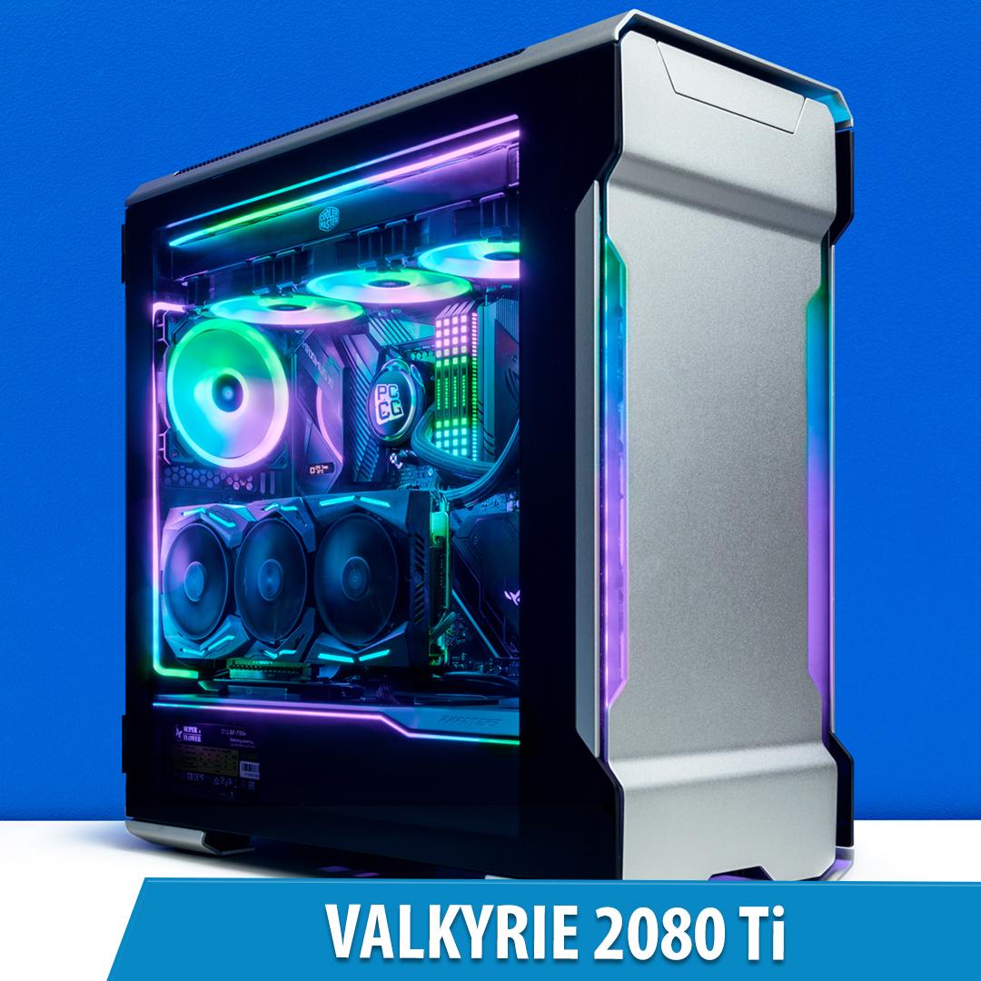 PCCG Valkyrie 2080 Ti Gaming System 2