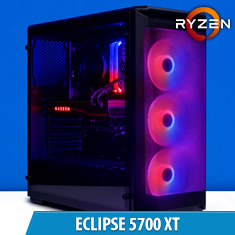 PCCG Eclipse 5700 XT Gaming System
