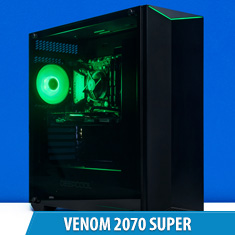 PCCG Venom 2070 Super Gaming System