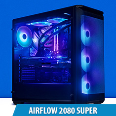 PCCG Airflow 2080 Super Gaming System