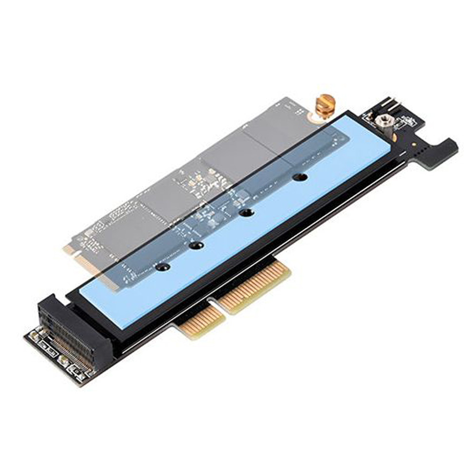 Silverstone M.2 NVMe to PCIe x4 Adapter Card