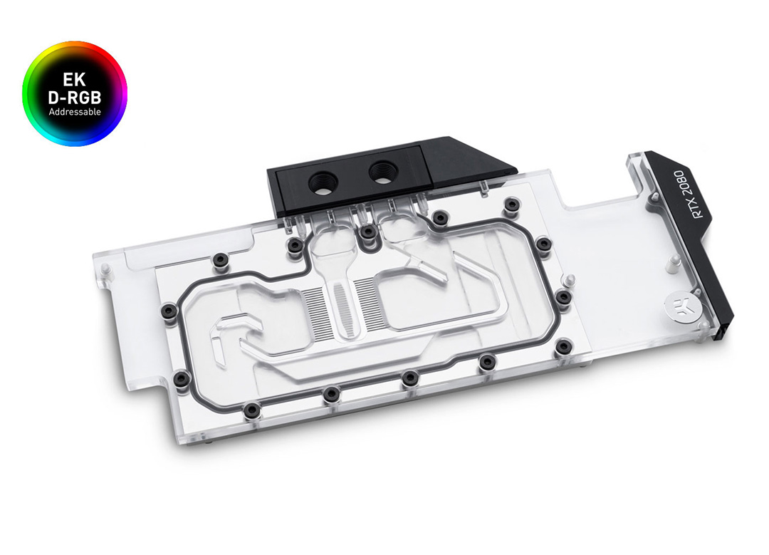 EK Quantum Vector Waterblock RTX RE D-RGB Nickel Plexi