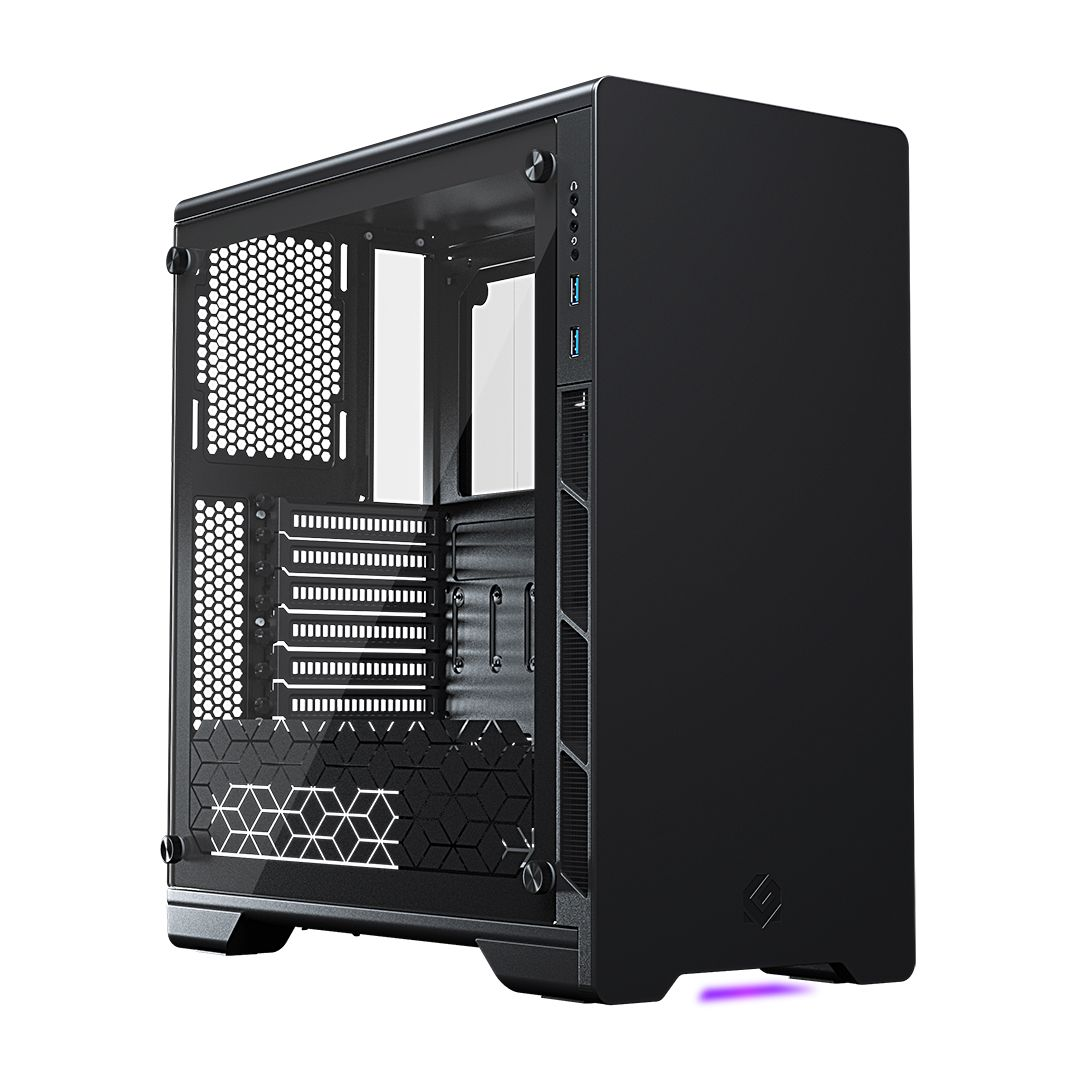 MetallicGear Neo Case Black V2