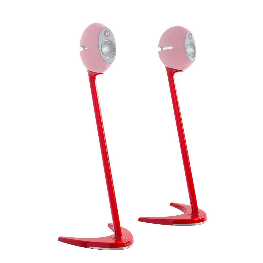 Edifier SS01C Speaker Stands Red Suits E25, E25HD & E235