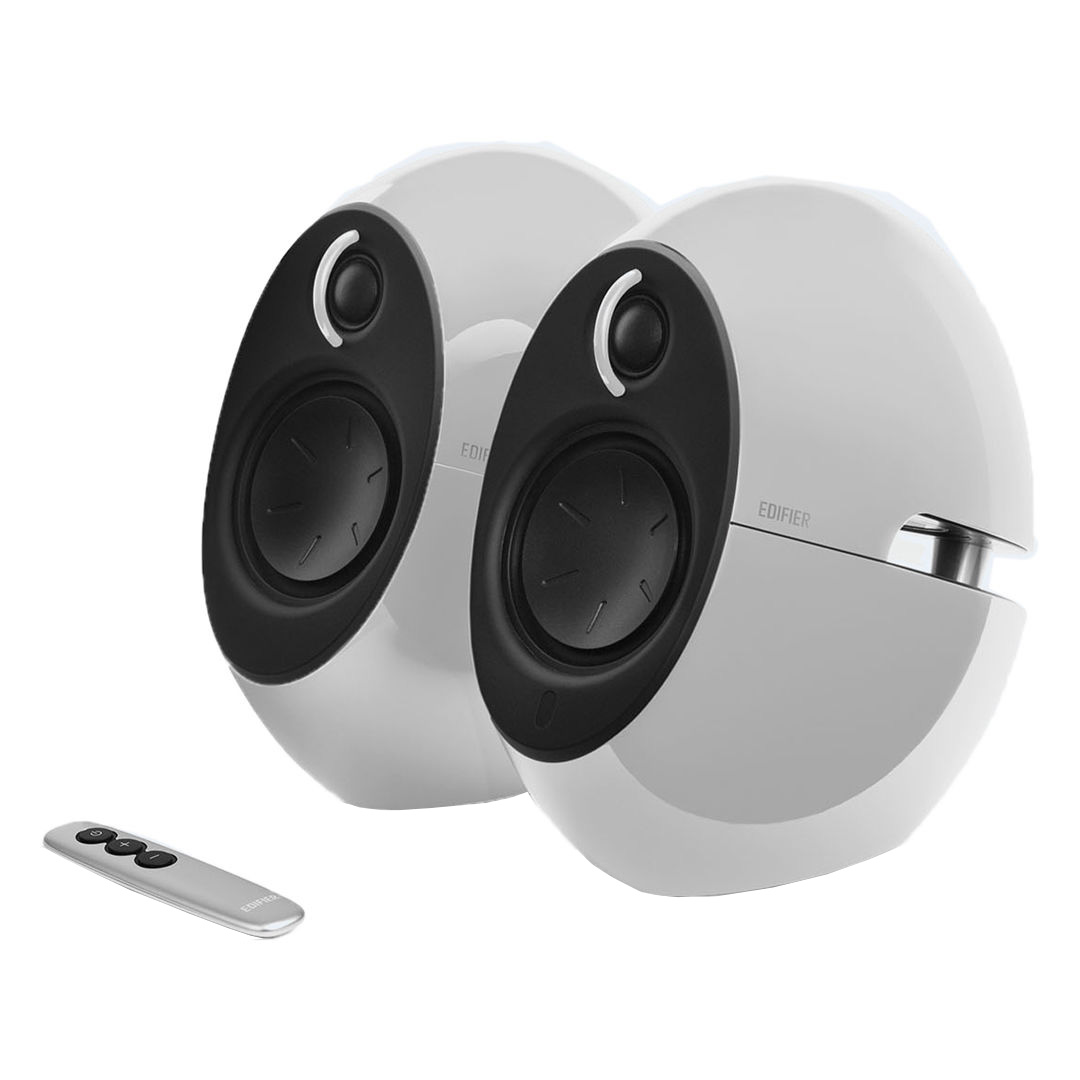 Edifier E25HD Luna Eclipse 4.0 Bluetooth Speakers White