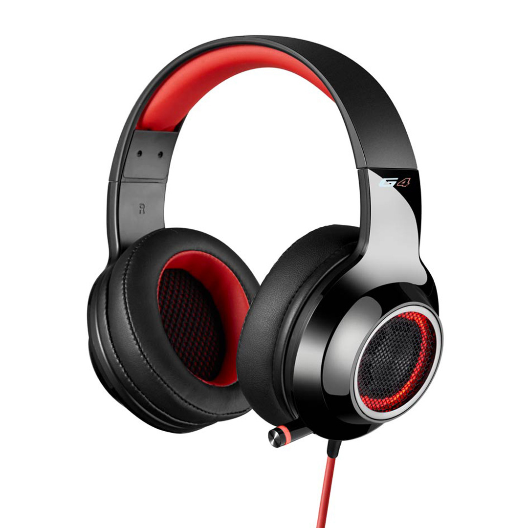Edifier V4 (G4) 7.1 Virtual Surround Sound Gaming Headset Red