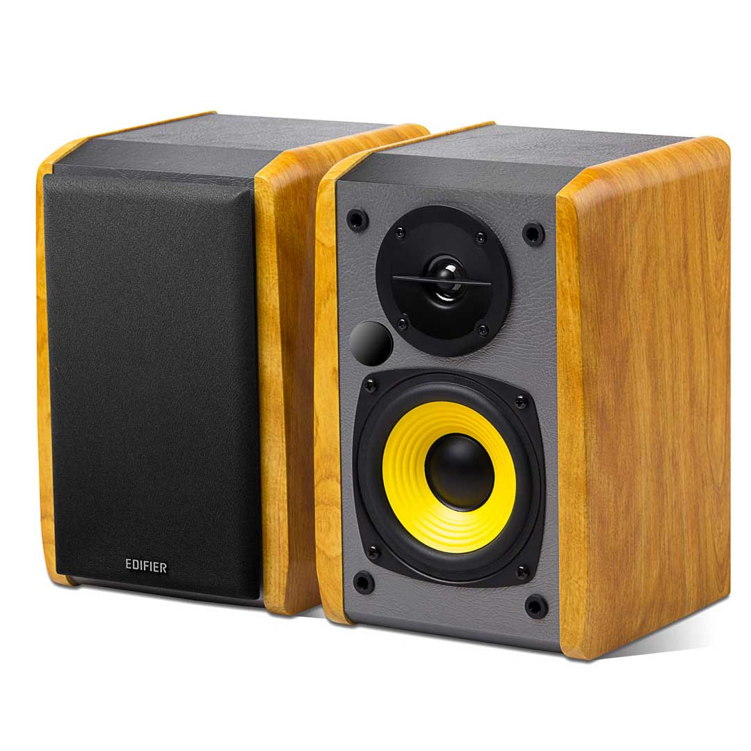 Edifier R1010BT 2.0 Bluetooth Bookshelf Speakers Brown