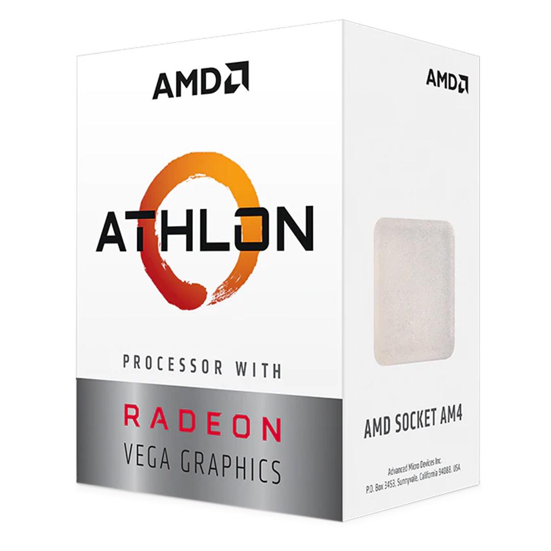 AMD Athlon 3000G APU with Radeon Vega 3 Graphics