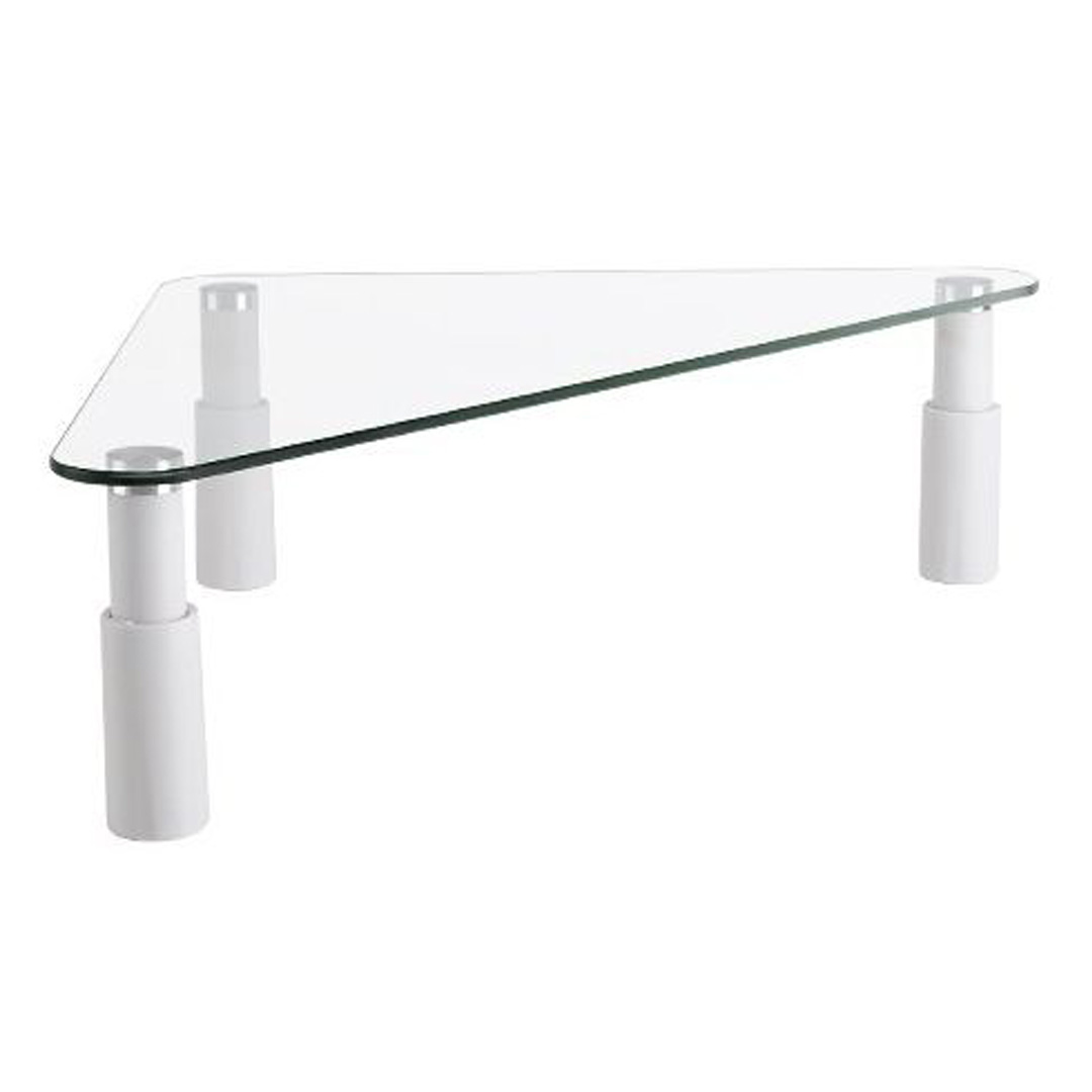 Brateck STB-102 Universal Tempered Glass Corner Monitor Stand