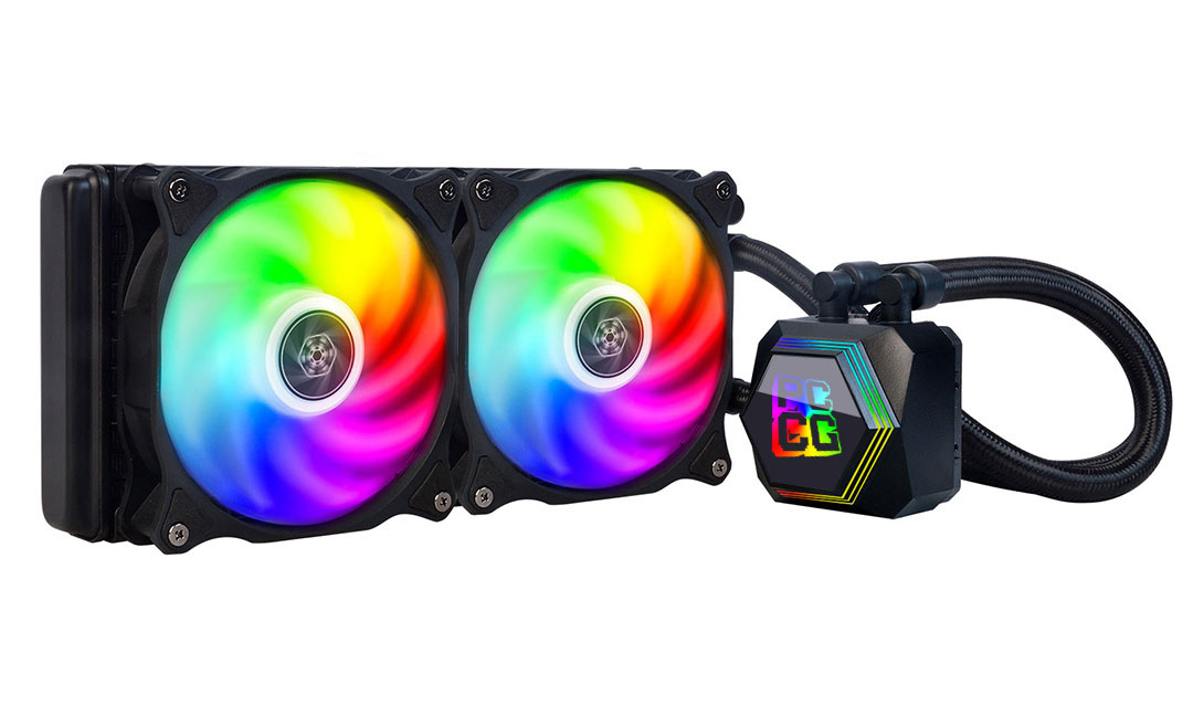 SilverStone Permafrost PF240 All-In-One Cooler PCCG Edition
