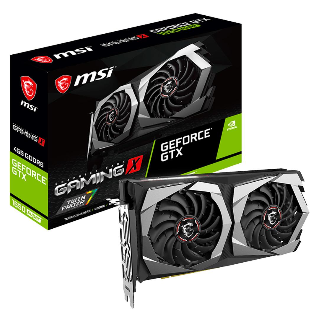 MSI GeForce GTX 1650 Super Gaming X 4GB
