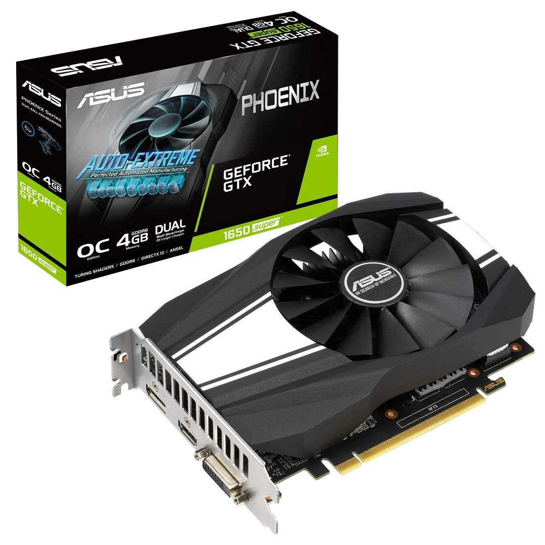 ASUS GeForce GTX 1650 Super Phoenix OC 4GB