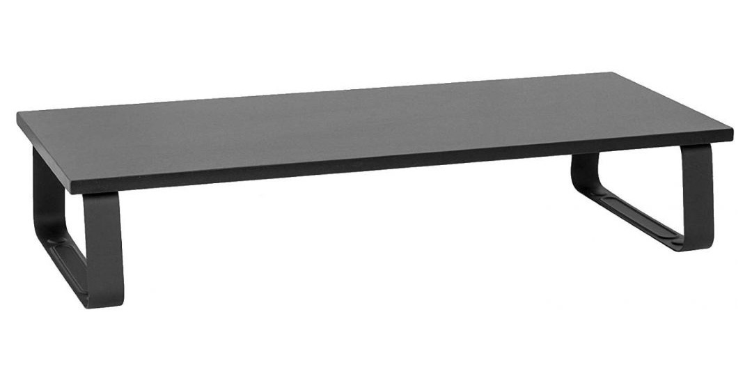 Brateck STB-111 Timber Desktop Monitor Stand Black