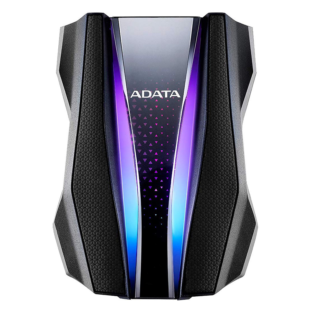 ADATA HD770G Rugged IP68 RGB 2TB External HDD Black